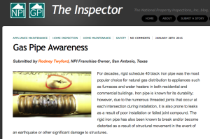 Gas Pipe Awareness